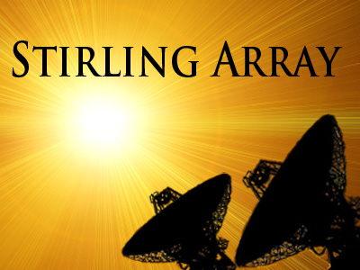 Stirling Array - green energy for the future